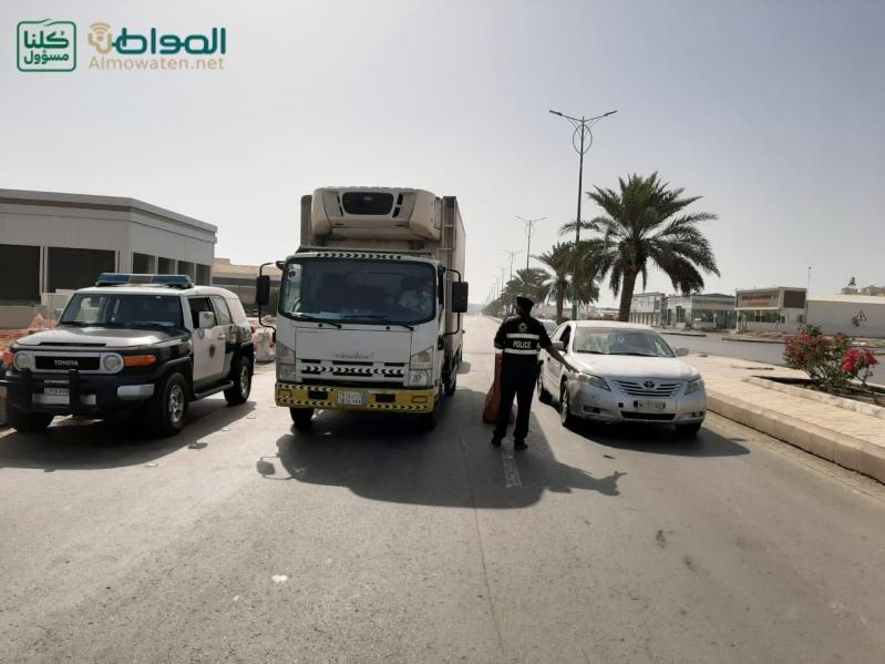 فيديو.. ضبط مخالفين بعد تطبيق قرار منع التجول بجازان