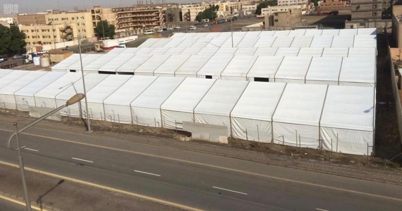 سكن مؤقت للعمالة في الصناعية الثانية بالدمام بمساحة 10 آلاف متر