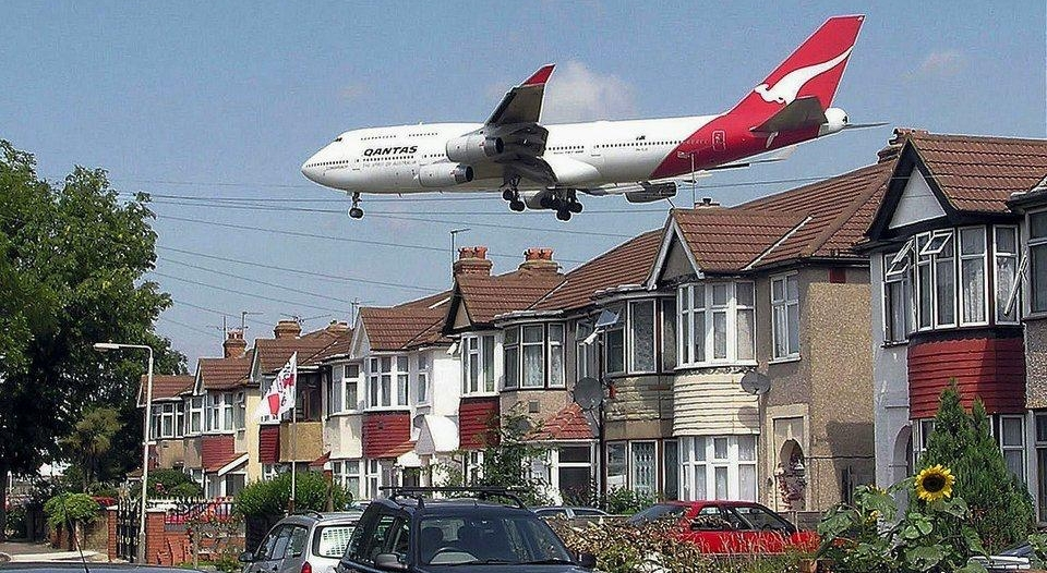 انخفاض التلوث الضوضائي بالطائرات إلى ٩٧٪