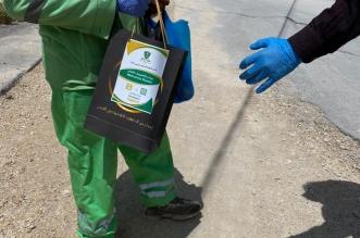 نادي الطلبة السعوديين بالأردن يوزع هدايا عينية على العمال - المواطن