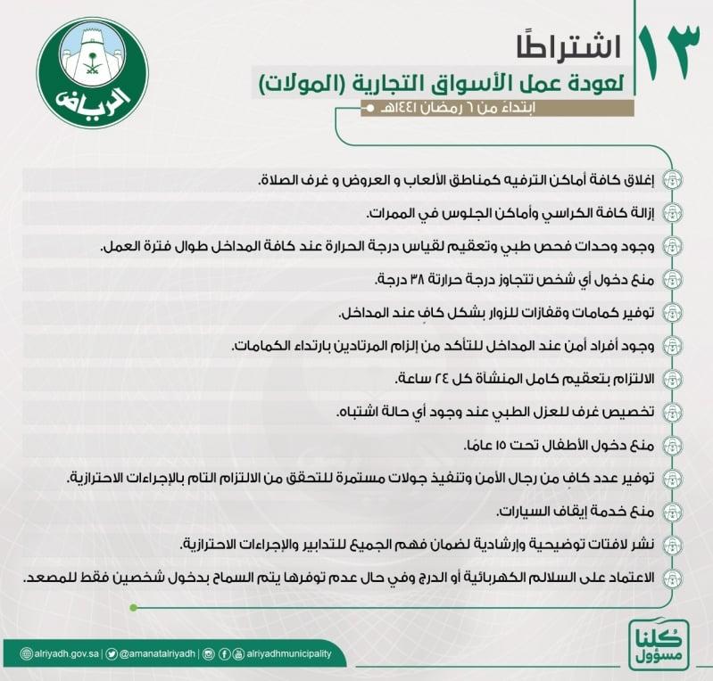 """13 اشتراطًا تعيد الحياة لـ""""مولات"""" الرياض - المواطن"""