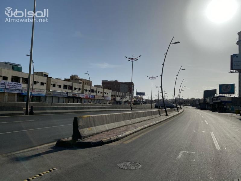 فيديو.. هكذا بدت شوارع خميس مشيط بعد تقديم منع التجول