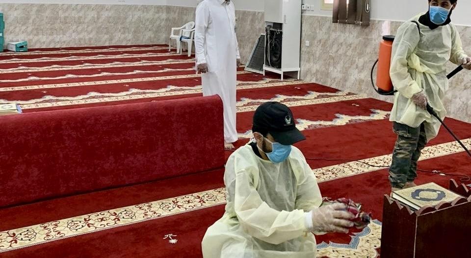 تعقيم 114 مسجداً في حفر الباطن