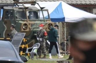 نجم توتنهام يظهر في ثكنة عسكرية بـ كوريا الجنوبية - المواطن
