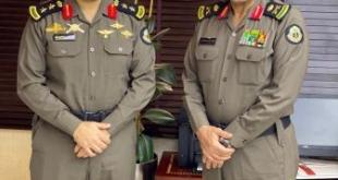 مدير شرطة الرياض يقلد العقيد التويجري رتبته الجديدة