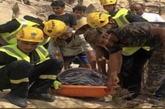 إنقاذ خمسيني في الباحة سقط من أعلى جبل نخرة - المواطن