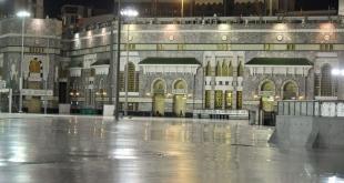 في أجواء روحانية.. أداء صلاة التراويح بالمسجد الحرام أول ليالي رمضان