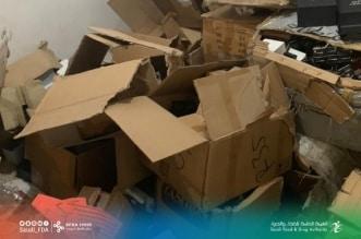 ضبط مستودع يخزن منتجات تجميلية لعلامات مقلدة ومصادرة 100 ألف عبوة بالرياض - المواطن
