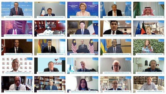 رئاسة مجموعة العشرين ترحب بتدشين مبادرة تسريع الوصول للأدوات الصحية الخاصة بجائحة كورونا