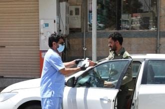 أمانة الباحة توزع أكثر من 5000 عبوة معقمات - المواطن