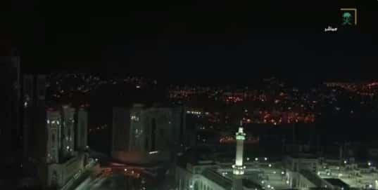 بالفيديو.. صلاة التراويح من المسجد الحرام