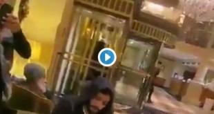 فيديو مؤثر.. شاب يعزف النشيد السعودي في بهو فندق بالنمسا