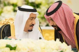 الشعب السعودي خلف القيادة