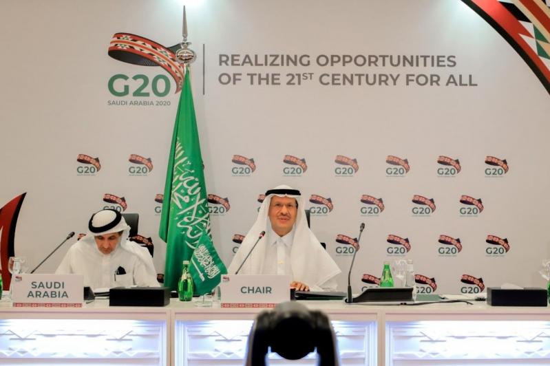 عبدالعزيز بن سلمان لمجموعة العشرين: نواجه فترة عصيبة جدًّا تتطلب إجراءات فورية