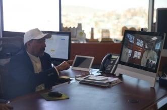 بلدية النماص تراقب المطاعم بكاميرات بث مباشر - المواطن