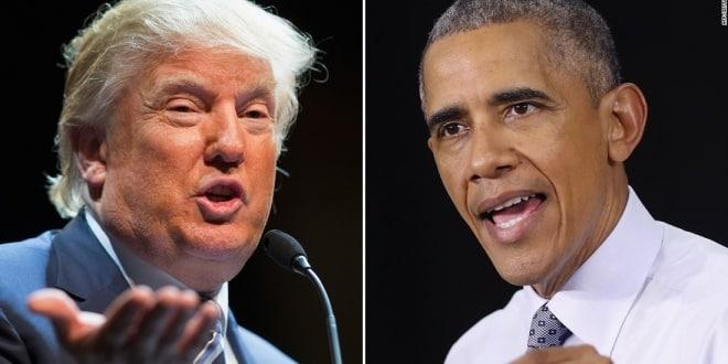 صورة أوباما يهاجم ترامب والرئيس يذكره بخسارة هيلاري القاسية