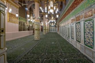 اكتمال ترميم وصيانة الجدار القبلي للمسجد النبوي - المواطن
