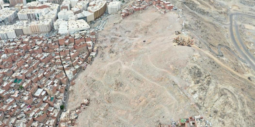 الانتهاء من إزالة 114 عقارًا تمثل المرحلة السادسة لتطوير حي النكاسة