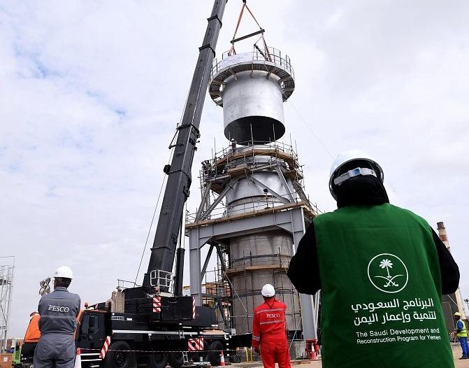 برنامج إعمار اليمن يضخ 16 ألف متر مياه يوميًا لعدن