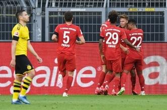 دورتموند ضد البايرن في الدوري الالماني