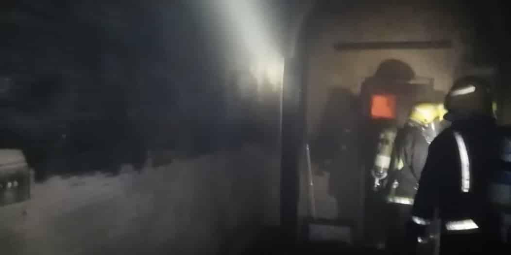 حالة اختناق في حريق منزل بحي المطار في جازان