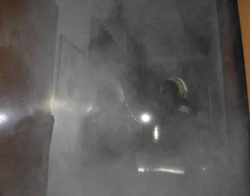 حريق في شقة بالمدينة المنورة بسبب التماس كهربائي