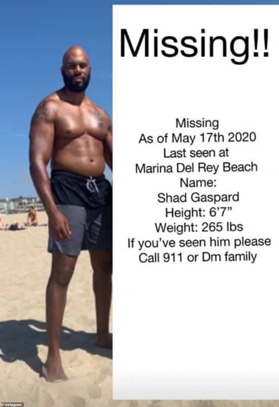 نجم WWE السابق شاد جاسبارد مفقود في عرض البحر - المواطن