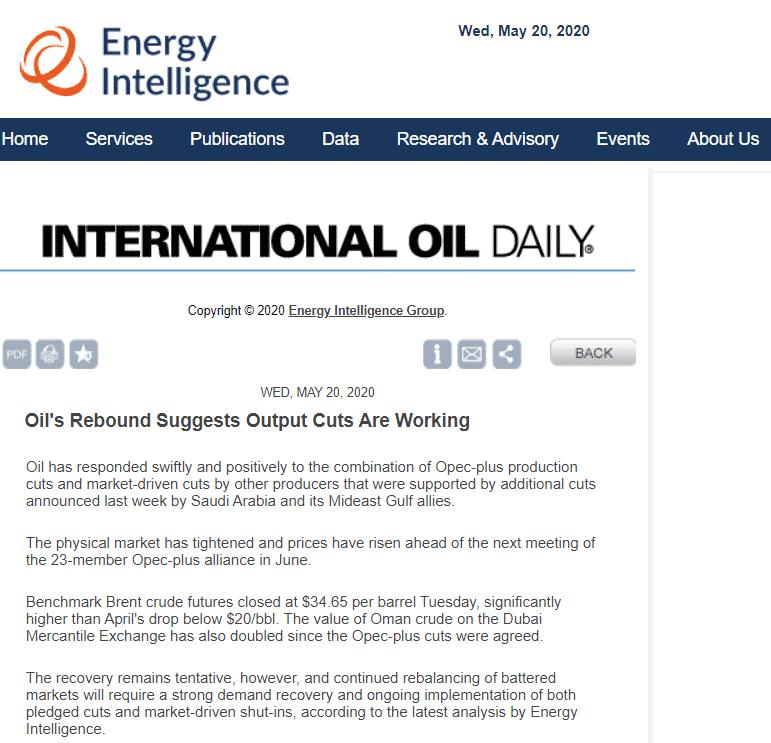 أسعار النفط تشير إلى دور السعودية الرائد في توازن سوق الطاقة - المواطن