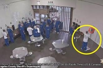 فيديو.. سجناء في الولايات المتحدة يصيبون أنفسهم بفيروس كورونا عمدًا ! - المواطن