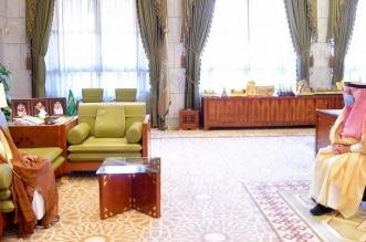 فيصل بن بندر يستقبل سماحة المفتي في قصر الحكم - المواطن