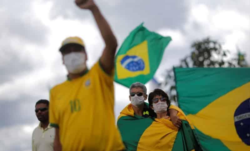 قفزة جديدة لوفيات كورونا في البرازيل