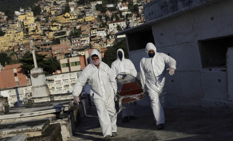 1211 حالة وفاة جديدة بفيروس كورونا في البرازيل