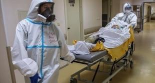 586 وفاة جديدة بسبب كورونا في روسيا والحصيلة 66623