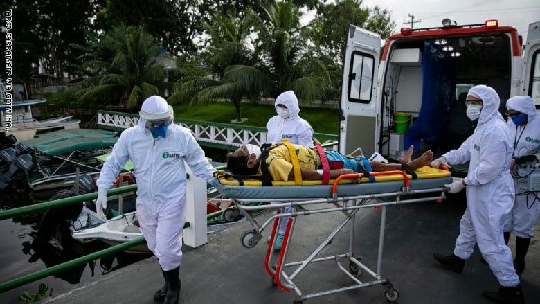 أكثر من ألف وفاة بـ كورونا في البرازيل خلال 24 ساعة