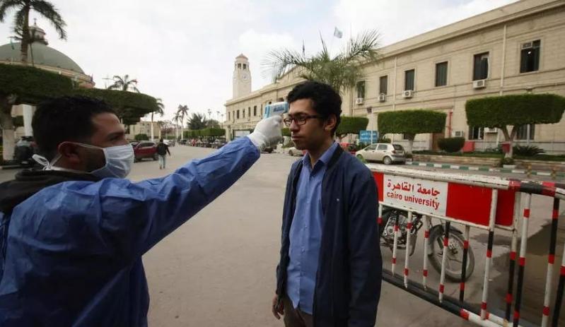 حصيلة جديدة لمصابي كورونا في مصر