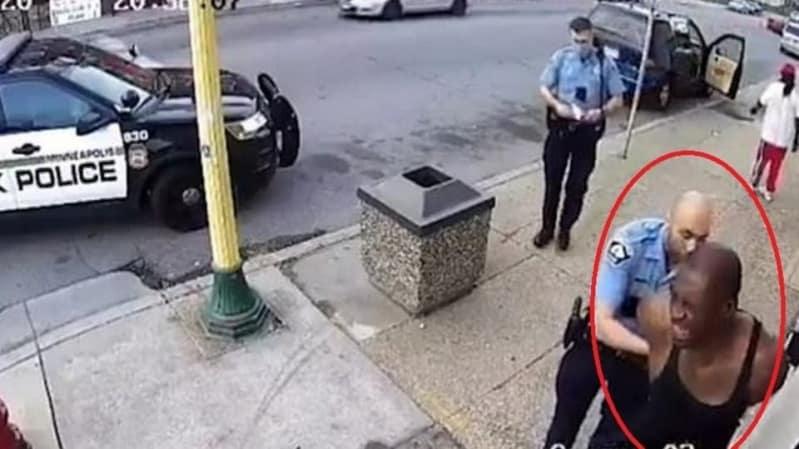 فيديو جديد.. جورج فلويد يتوسل للضابط قاتله: من فضلك لا أستطيع التنفس