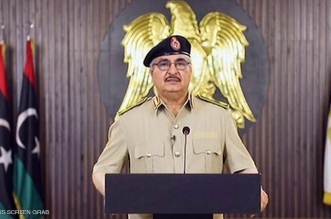 حفتر: كل تركي ومرتزق على أراضينا هدف مشروع للجيش الليبي - المواطن
