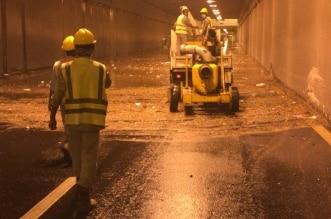 نزح وتصريف 35 ألف طن من مياه الأمطار في خميس مشيط - المواطن