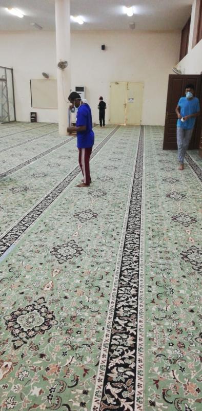 فرق تطوعية لتنظيف وتهيئة جوامع ومساجد ناوان - المواطن