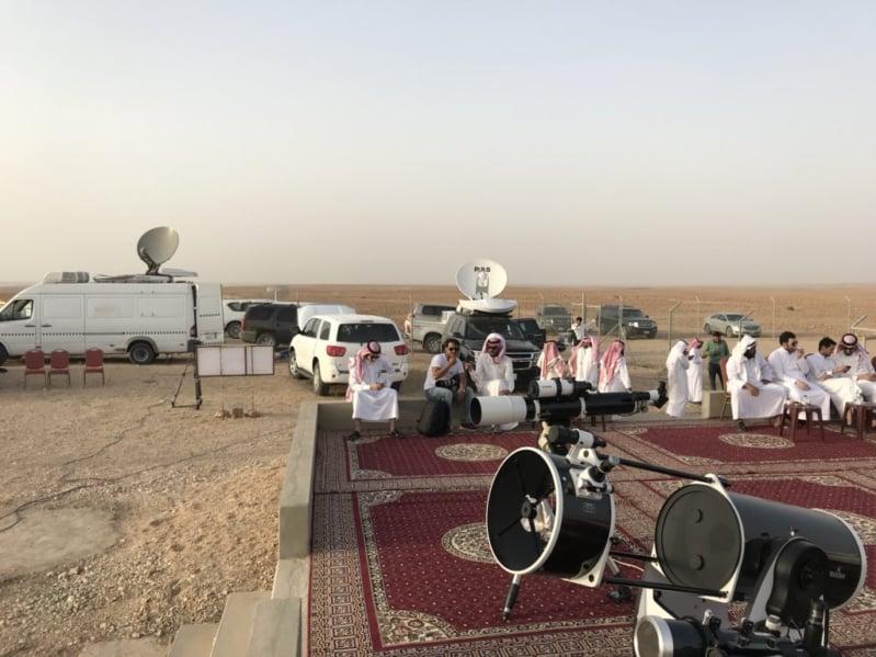 المراصد السعودية والمتراؤون يستعدون لرصد هلال شوال - المواطن