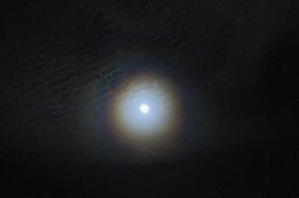 القمر في طور التربيع الأخير يزين السماء بعد منتصف الليل - المواطن
