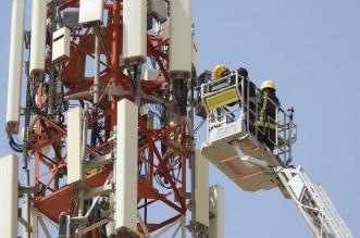 على ارتفاع 50 متراً.. فك احتجاز شخص في برج للاتصالات بالرياض - المواطن
