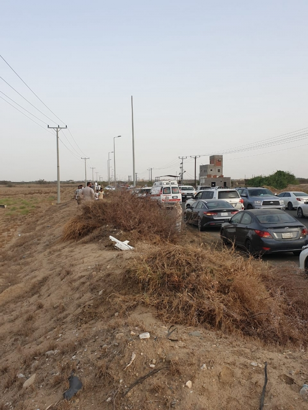وفاة شخص في حادث مروري بطريق مجعر في صامطة - المواطن