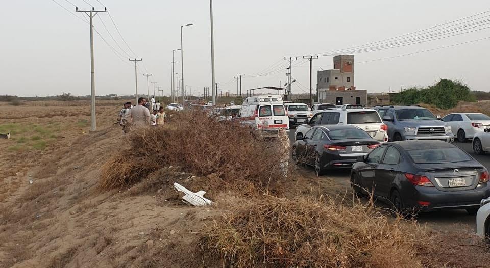وفاة شخص في حادث مروري بطريق مجعر في صامطة