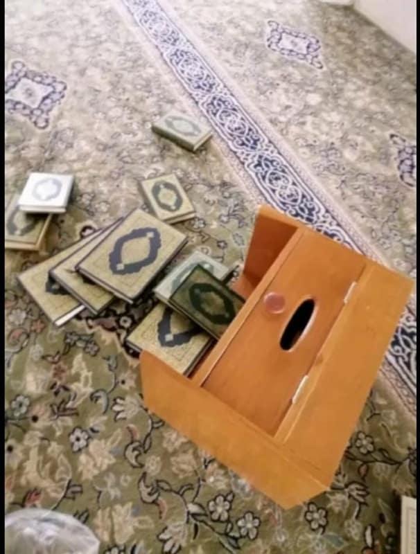 الشؤون الإسلامية تعلق على مقطع العبث بمسجد الفاروق بالداير
