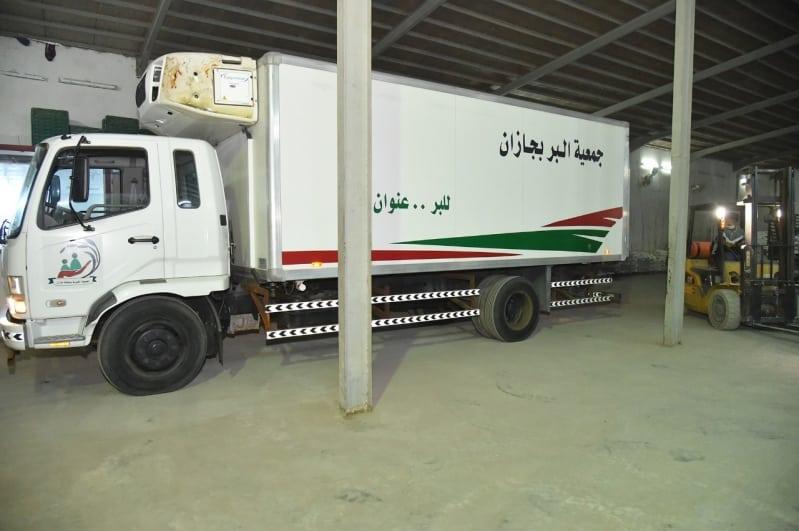 بر جازان تدعم الجهات الخيرية في المحافظات الحدودية بـ 7 آلاف سلة غذائية