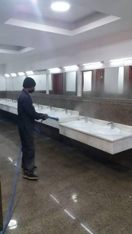 بلدية خميس مشيط تكثف أعمال تطهير وتعقيم المساجد استعدادًا لاستقبال المصلين - المواطن
