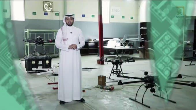 بالفيديو.. جولة داخل معمل سعودي متخصص في إنتاج طائرات بدون طيار