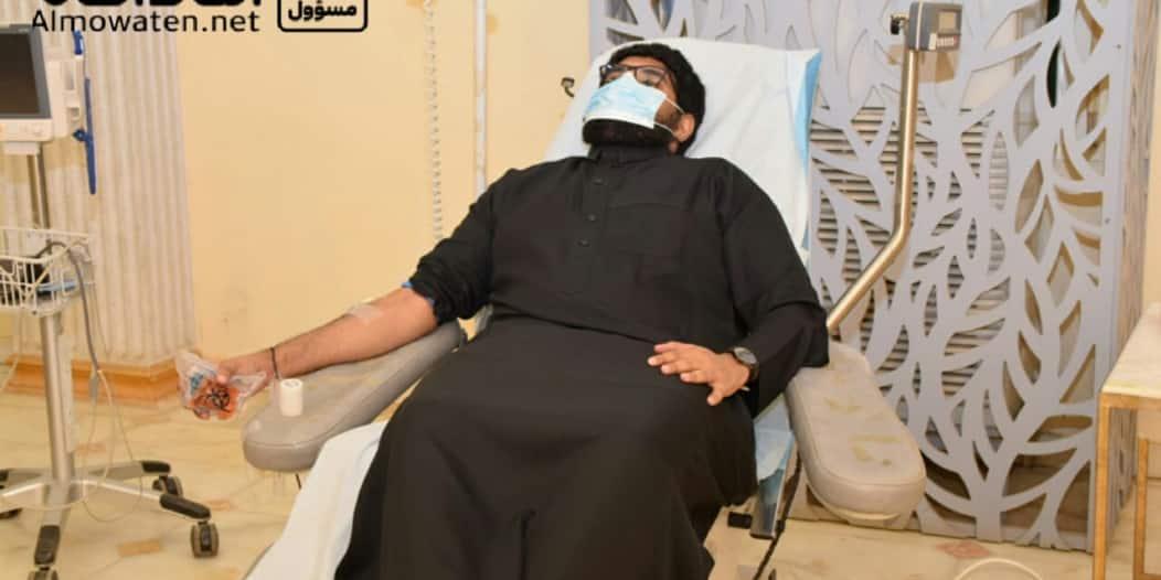 """""""المواطن"""" ترصد انطلاق حملة التبرع بالدم بنادي حطين بصامطة"""
