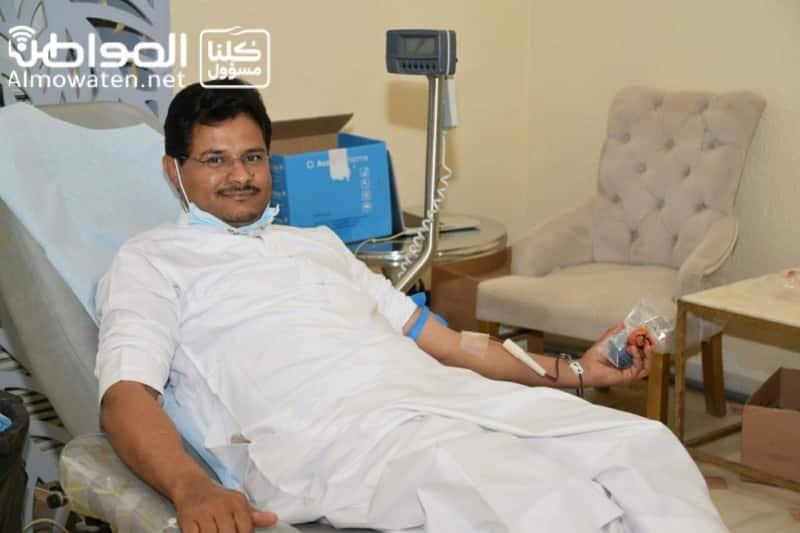 """فيديو.. """"المواطن"""" ترصد سباق رجال الأمن للتبرع بالدم بصامطة - المواطن"""